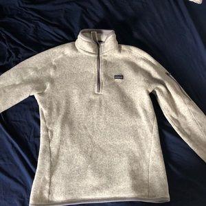 1/4 zip Patagonia fleece